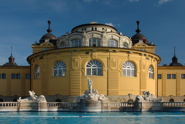 One of Budapest's many baths
