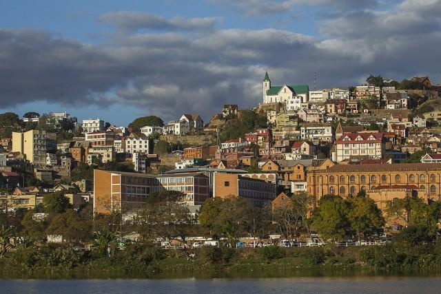 Antananarivo view, Madagascar