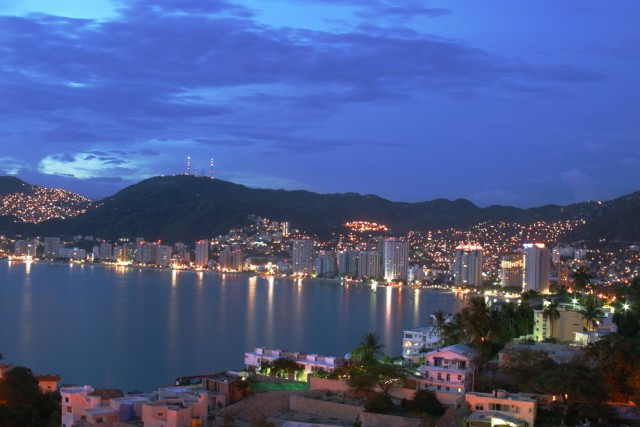 Acapulco seen from above