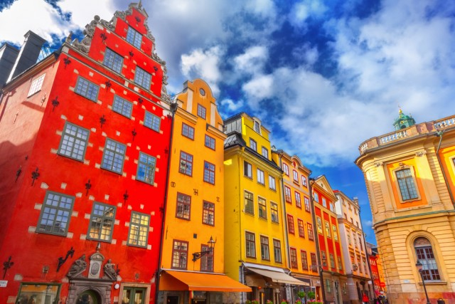 The historical center of Stockholm !