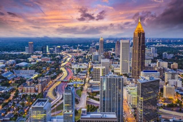 Atlanta seen from above