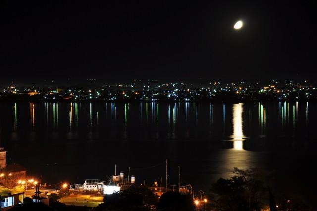 Encarnacion view by night