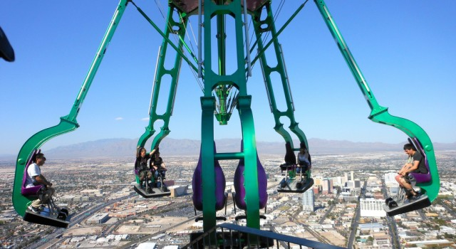 Insanity - The Ride in Las Vegas