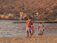 Gnejna Bay Beach