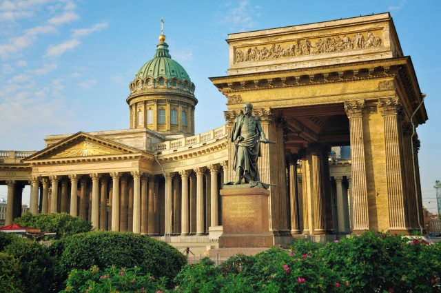 Saint Petersburg is one of the best cities in the world.