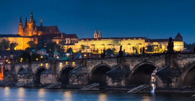 Prague, beautiful and mighty
