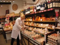 French cheese and wine shop