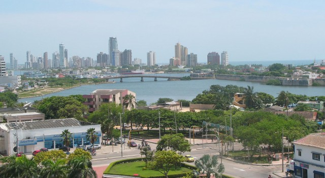 Cartagena view, Colombia