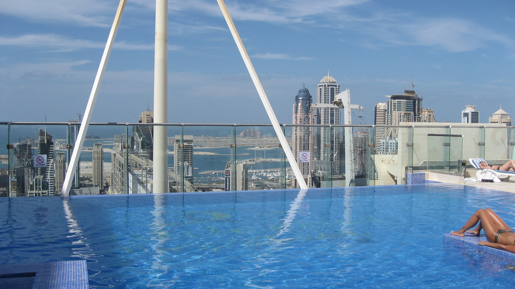 View over Dubai