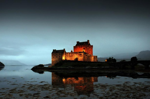 Eilean Donan Castle in Great Britain