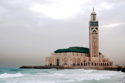 Casablanca Hassan II Mosque in Morocco