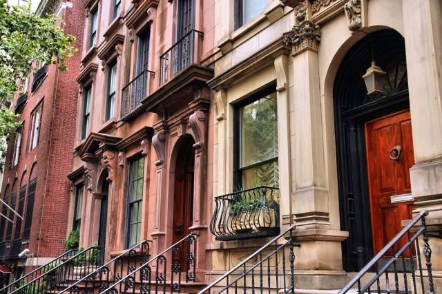 Colorful streets of New York
