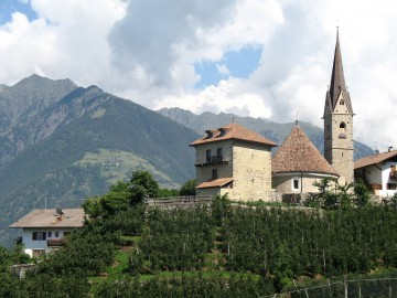 Old church in South Tyrol, Italy