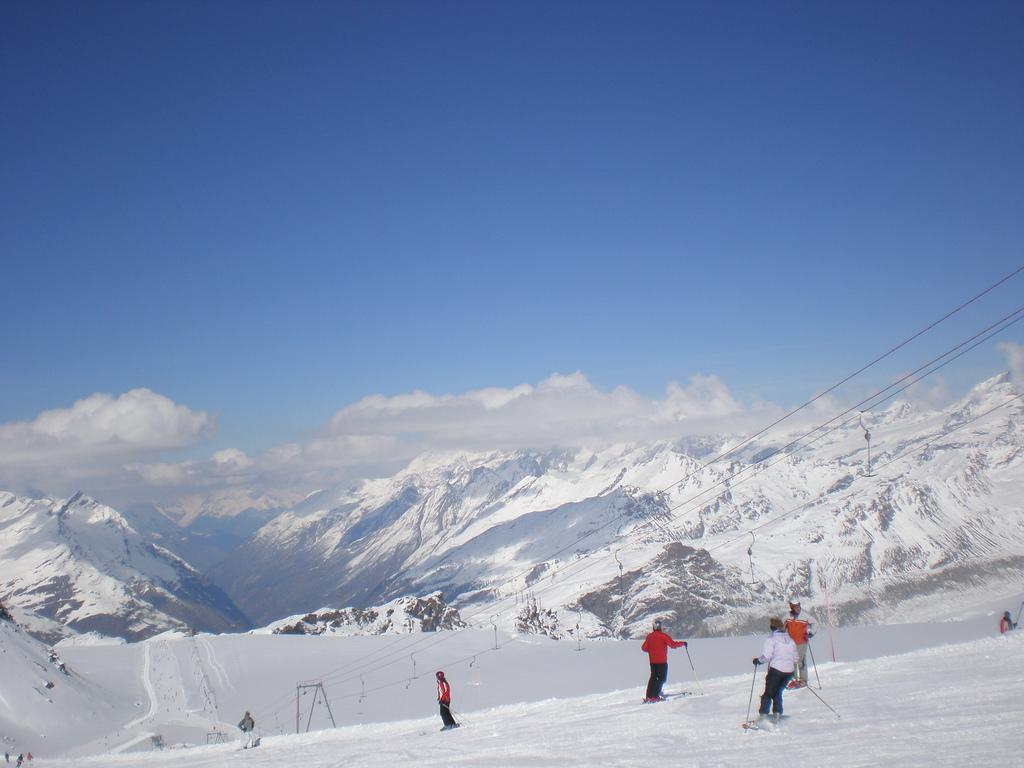 Skiers in Switzerland