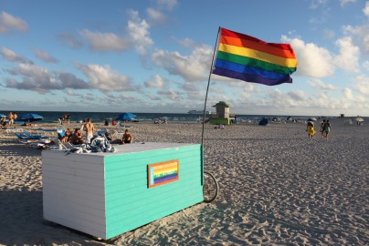 LGBT beach at 12th street