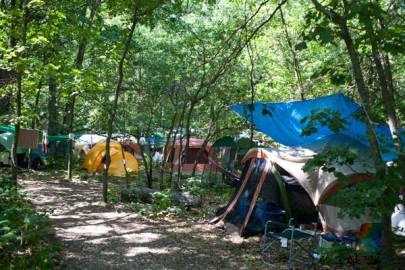 Michfest campsite