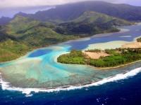 Tahiti beach, Huahine island