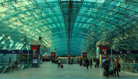 Frankfurt Airport inside image