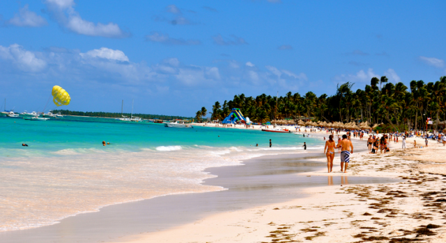 Beach in the Dominican Republic