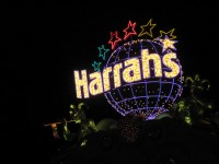 Lights of Harrah's Las Vegas
