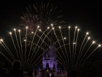Fireworks at Cindarella Castle