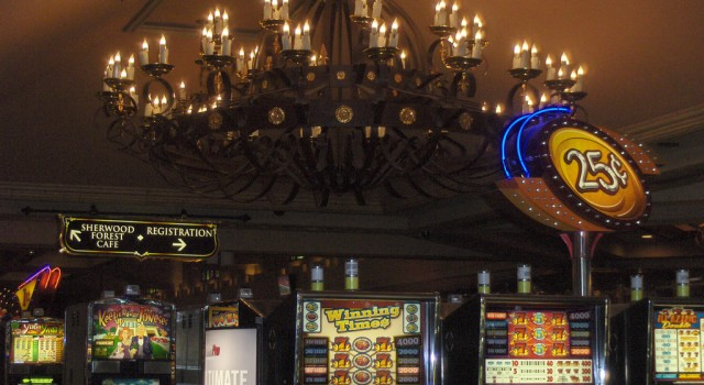 Slot machines at Excalibur Casino