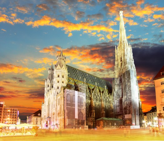St Stephen's Cathedral in the heart of Vienna