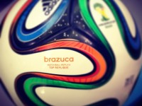 Adidas Brazuca official ball of the 2014 World Cup