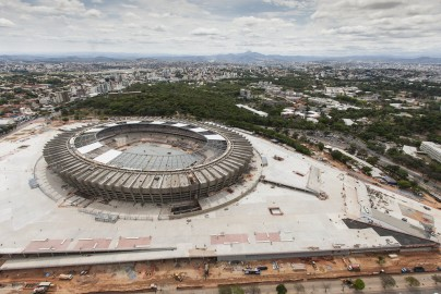 Estadio Mineirao in Belo Horizonte