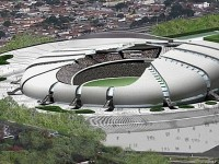 Estadio das Dunas in Natal, Brazil