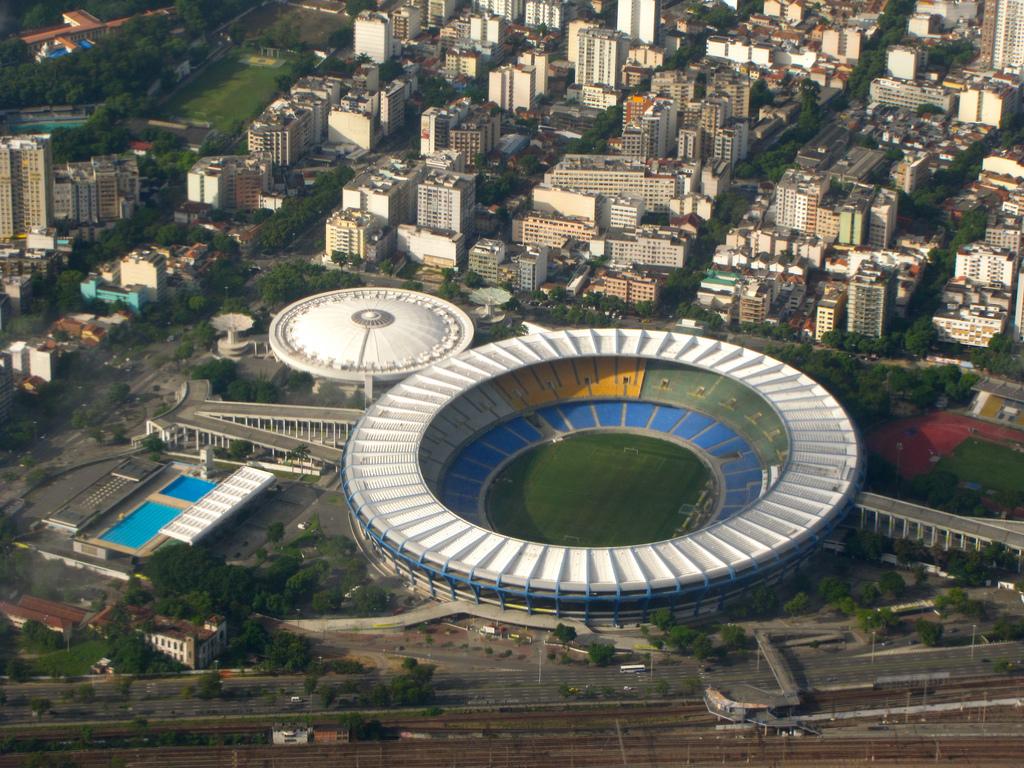 Estadio do Maracana in Rio de Janeiro