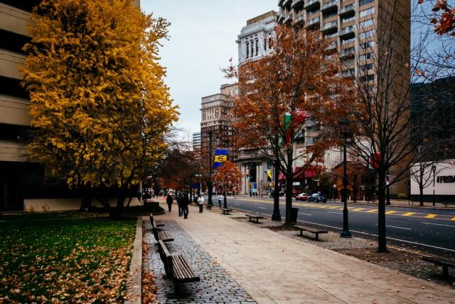 Streets in Philadelphia