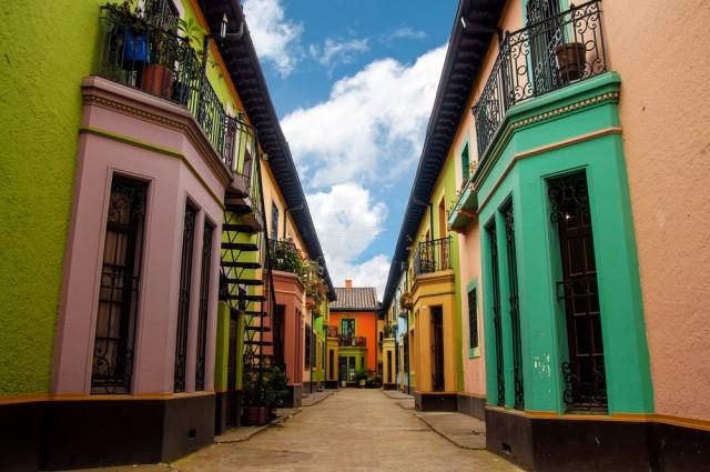 Colorful Bogota