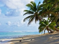 Rarotonga beach, Cook Islands