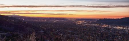 Burbank sunrise
