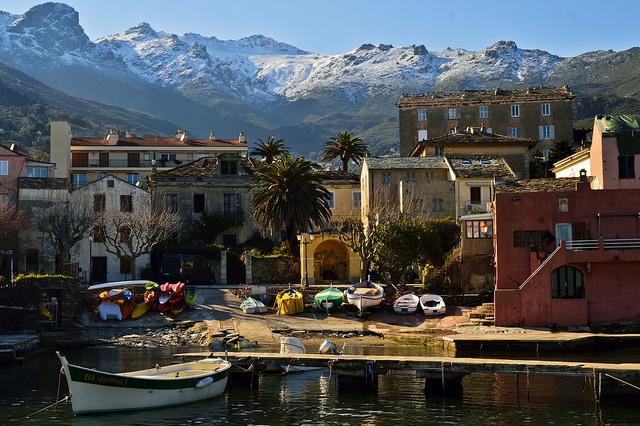 Village on Corsica