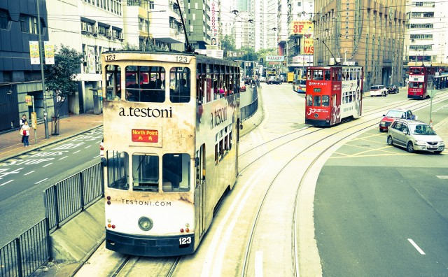 Trams of Hong Kong ©Luke Ma/flickr