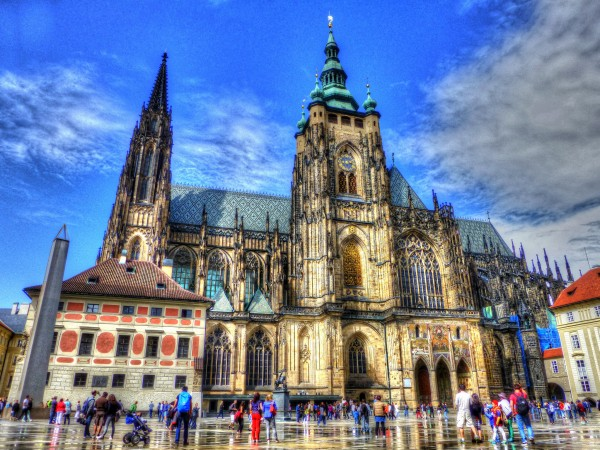 St Vitus Cathedral ©Travel via Italy