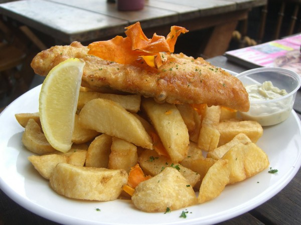 Fish and Chips ©Alpha