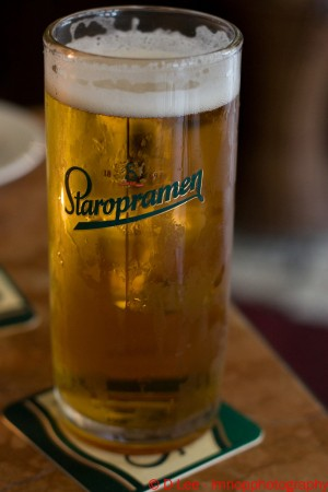 Staropramen, one of Prague's and also worldwide known beer ©lmnop88a