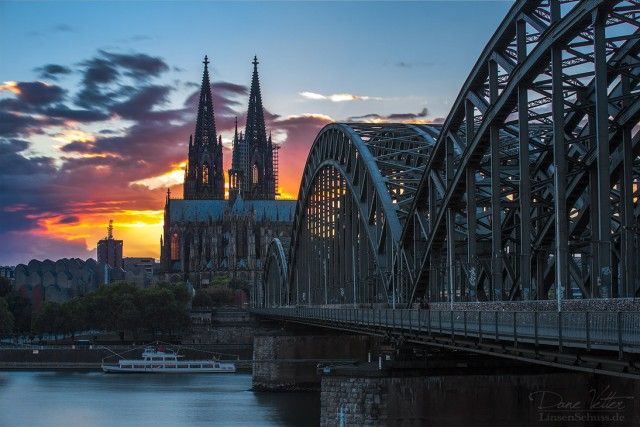 Cologne with it's cathedral