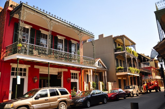 French Quarter balconies