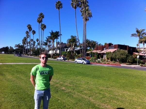 Santa Barbara's clear sky