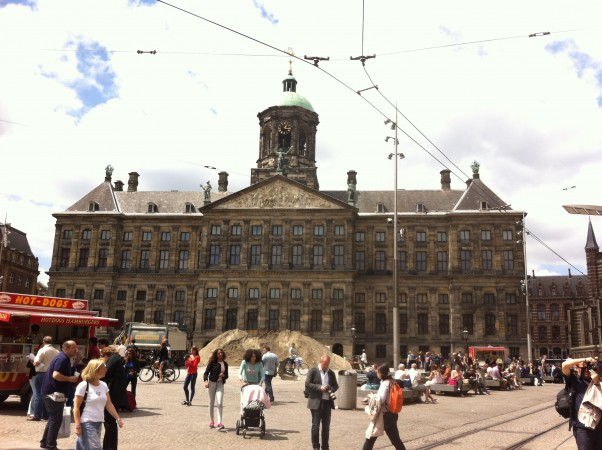 The Royal Palace at Dam Square