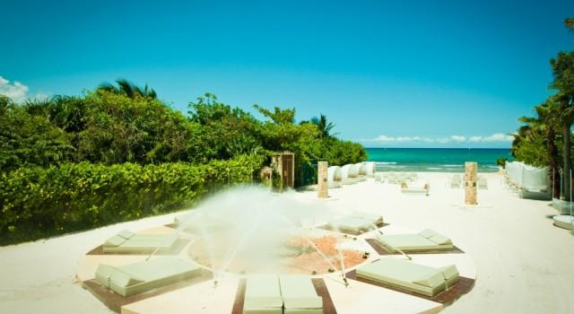 The beach at Bel Air Resort and Sta