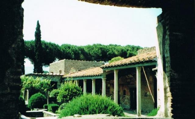 Pompeii view