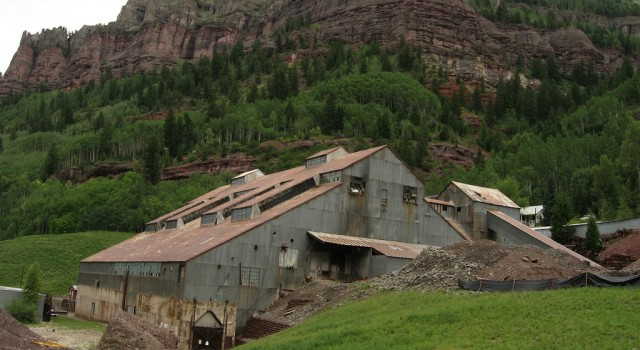 Abandoned mill near Telluride