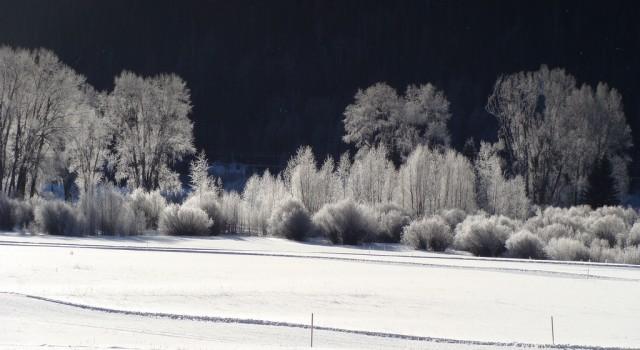 San Miguel Valley near Telluride in winter