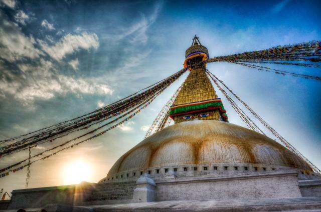 Stupa Temple in Kathmandu, Nepal ©Brandon/flickr