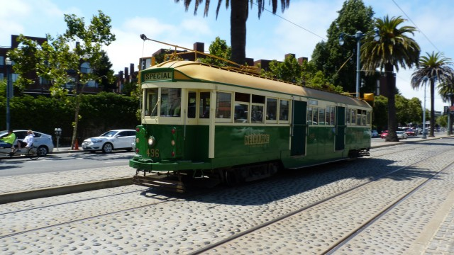 Melbourne Tram ©Andrew Phelps/flickr